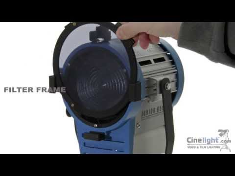 CINELIGHT TUNGSTEN FRESNEL LIGHTING KIT: 1000W + 650W + 300W