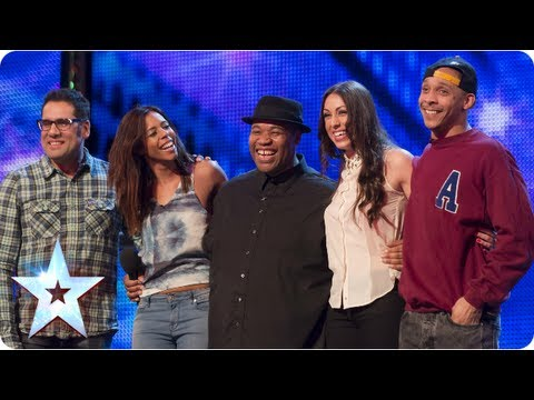 Band of Voices acapella group sing Price Tag  Week 6 Auditions  Britains Got Talent 2013