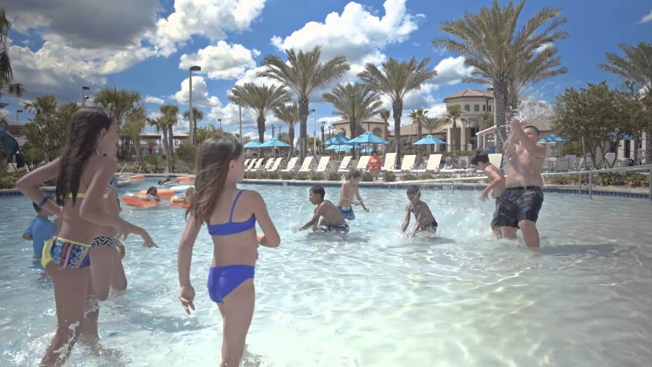 The Retreat At Champions Gate Oasis Clubhouse In Orlando