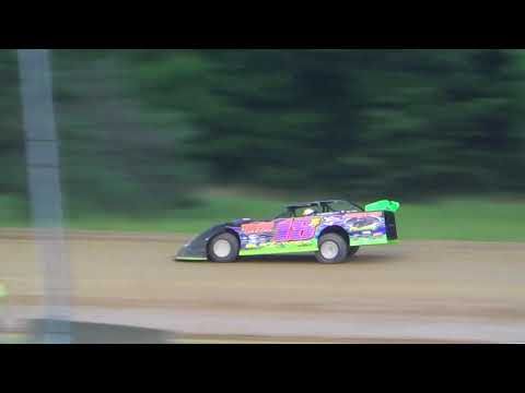 July 21, 2018 Dog Hollow Speedway - Video 3- Heat Race Only. No Features due to Rain.