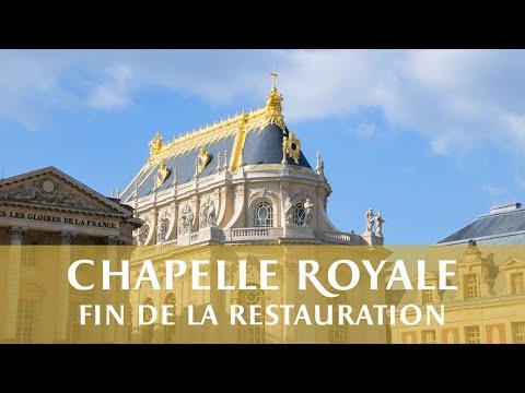 Chapelle Royale - Fin de la restauration // Royal Chapel - End of restoration