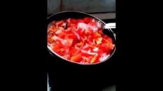 How To Make Non-veg Tomato Chutney   Indian Vegetarian Recipes