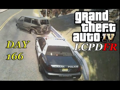 LCPDFR 1.0d - Day 166 - Newark Police Patrol - Chases & Shootout