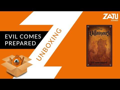 Villainous: Evil Comes Prepared Unboxing