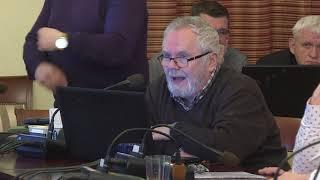 Głosowanie w sprawie zatwierdzenia wygaśnięcia mandatu radnego, Janusza Rewersa