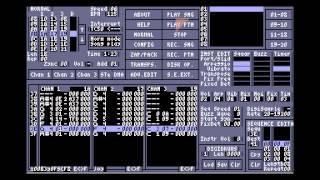 Bullet Sequence by !Cube (Atari ST maxYMiser music)