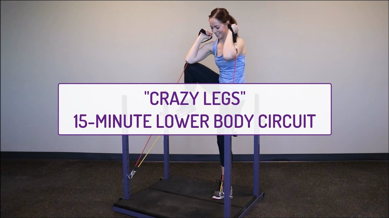 Crazy Legs | 15-Minute Lower Body Circuit | Evolution Training System