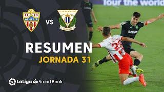 Resumen de UD Almería vs CD Leganés (1-1)