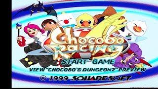 Gambar cover Chocobo Racing (1999) - Playstation PS1 Gameplay