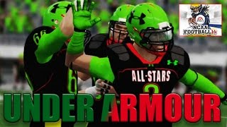 HOW I GOT THE UNDER ARMOUR ALL-AMERICAN GAME IN MY RTG SERIES!!!!