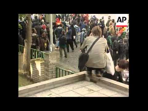 CZECH REPUBLIC: IMF/WORLD BANK SUMMIT & PROTESTS WRAP (2)
