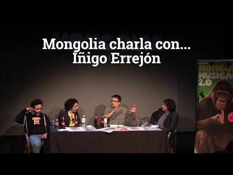 Mongolia charla con Íñigo Errejón