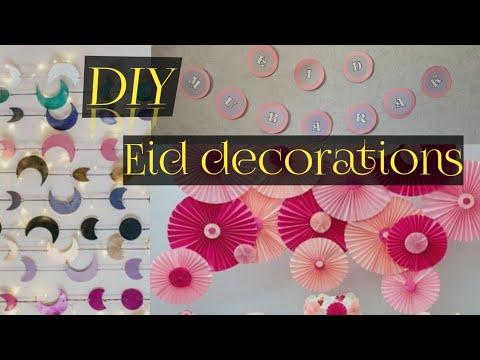 eid-decorations-idea- -easy-eid-decorations-2020- -eid-diy- -eid-home-decor- -eid-mubarak-craft