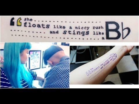My First Tattoo! | Jingleheartart