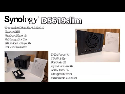 Synology DS619Slim NAS - Your Questions Answered - YouTube