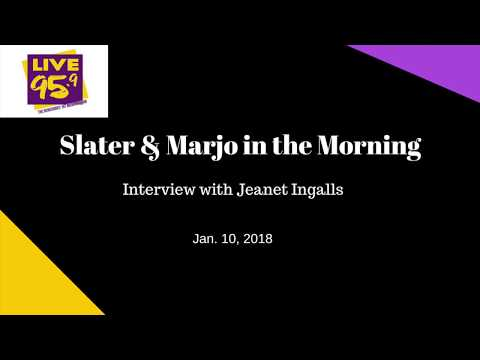 Slater & Marjo: Interview with Jeanet Ingalls