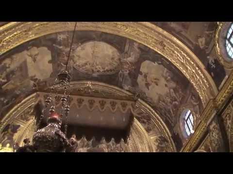Inside St. John's Co-Cathedral (Kon-Katidral ta' San Ġwann), Valetta, Malta