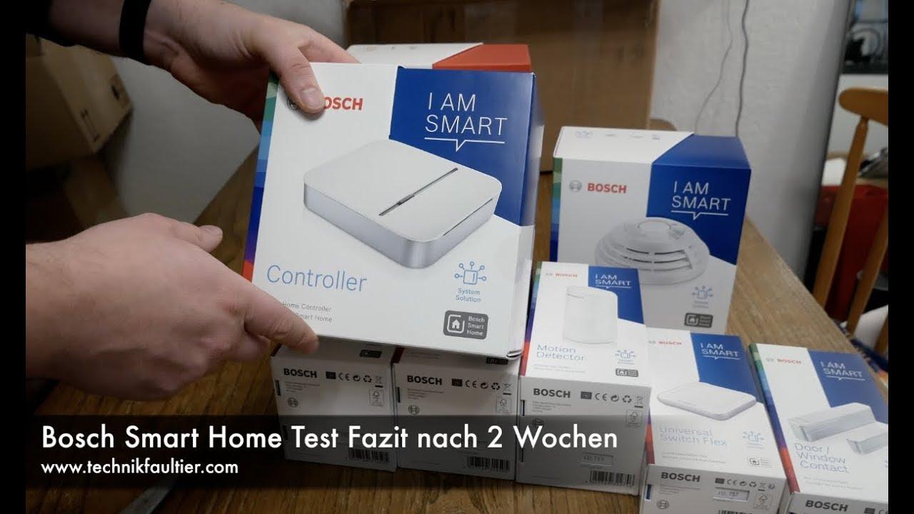 Bosch Smart Home Set Test Fazit Nach 2 Wochen Youtube