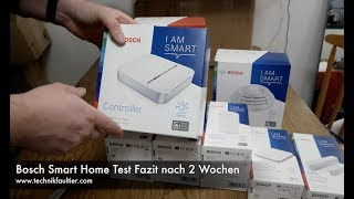 Bosch Smart Home Set Test Fazit nach 2 Wochen