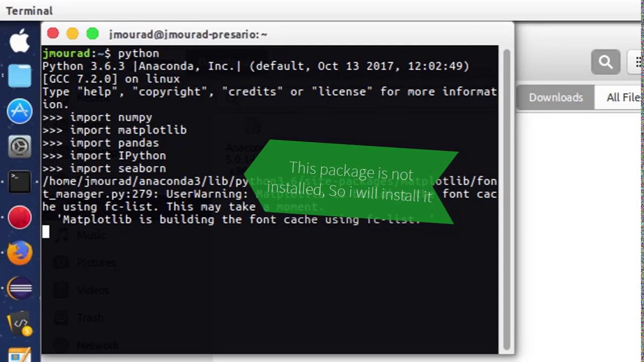 How to - install anaconda on ubuntu