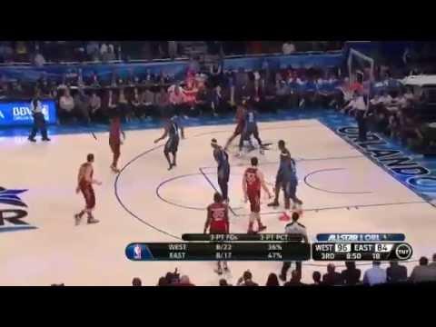 ea4f60e2e72d Dwyane Wade BREAKS Kobe Bryant s NOSE   NBA All-Star Game 2012 (Kevin  Durant MVP