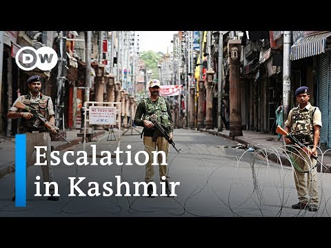 India puts Kashmir on lockdown, fueling tensions in the region | DW News