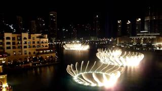 Dubai Fountain - 'Enta Omri' HD