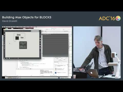 Introduction to Max for BLOCKS, David Zicarelli