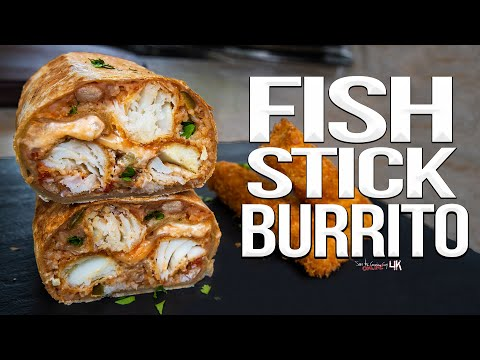 The Best Fish Stick Burrito | SAM THE COOKING GUY 4K