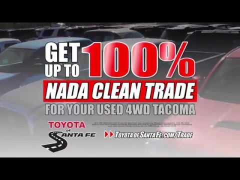 Toyota Of Santa Fe Wants Your Truck | New Mexico Toyota Dealer
