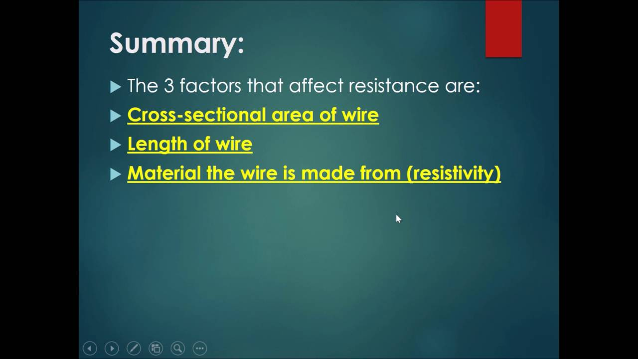 length wire affects its resistance In my physics coursework i am going to investigate the effect of the length of a wire on its resistance resistance is the measure of how easy it is for current to flow through a wire current is the rate of flow of charge through a conductor, and it is measured in amps using an ammeter to help me.
