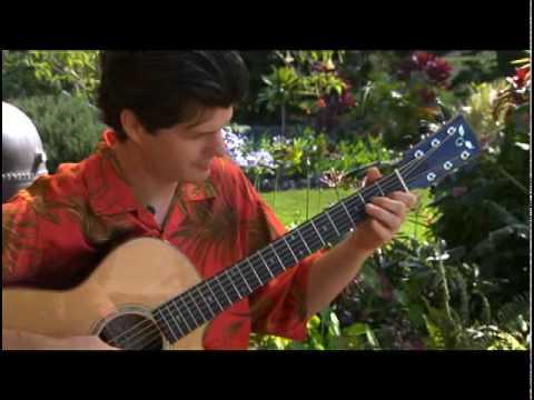 video:Jeff Peterson demonstrates Slack Key Guitar jeffpetersonguitar.com