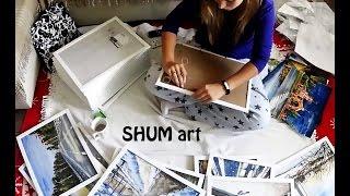 Оформление картин в рамы. Подготовка к выставке.(Трудовое утро художника. Вот так происходило оформление картин в рамки. Есть плюсы в работе дома - по домашн..., 2016-08-26T14:22:25.000Z)