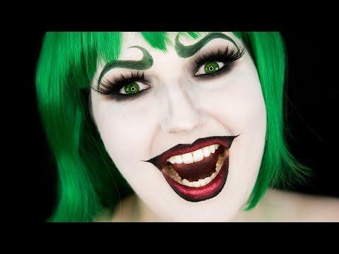 Halloween Joker Makeup Tutorial Female Joker