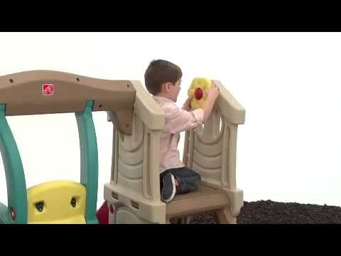 Step2 Play Up Toddler Swing Slide Youtube