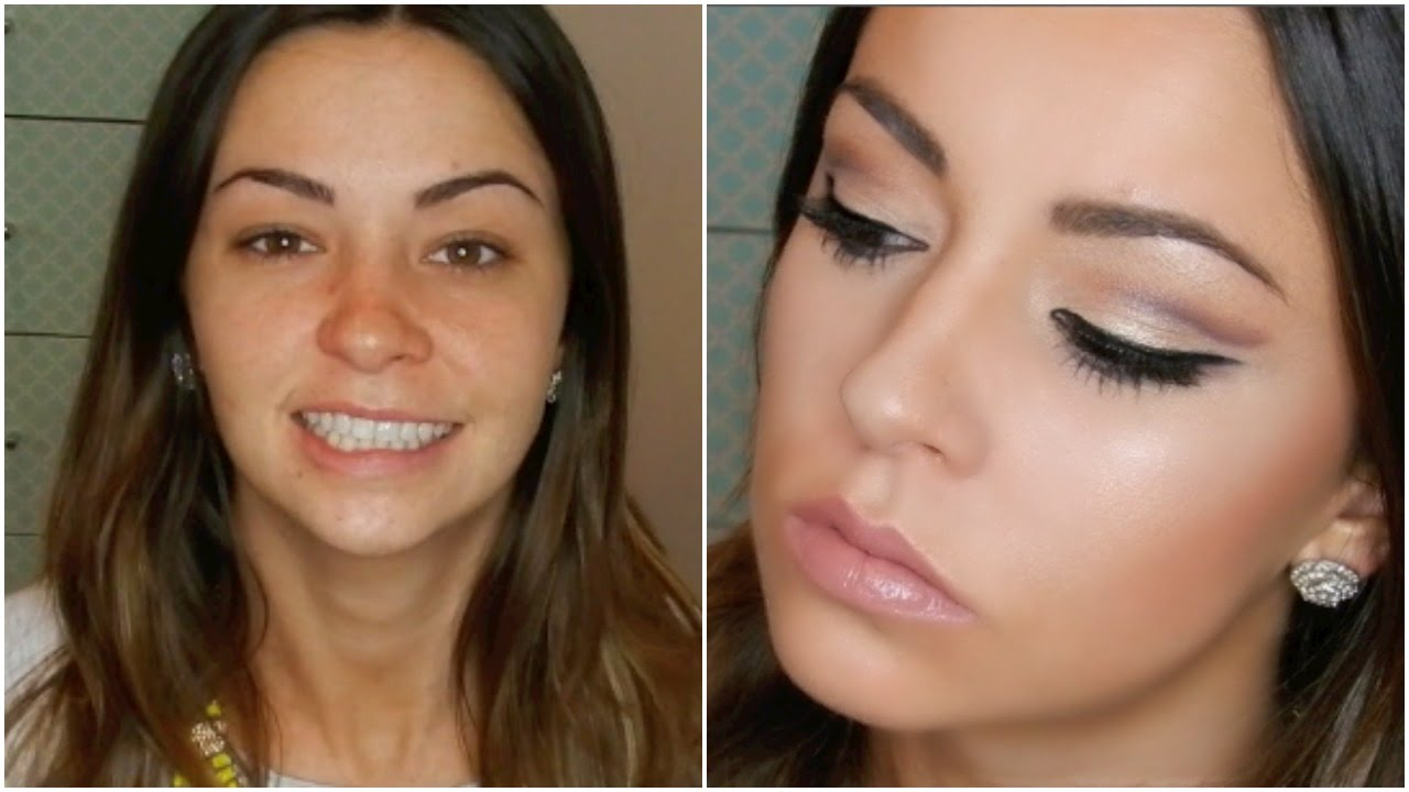 HOW TO: Hooded Eyes Cut Crease Makeup Tutorial - YouTube