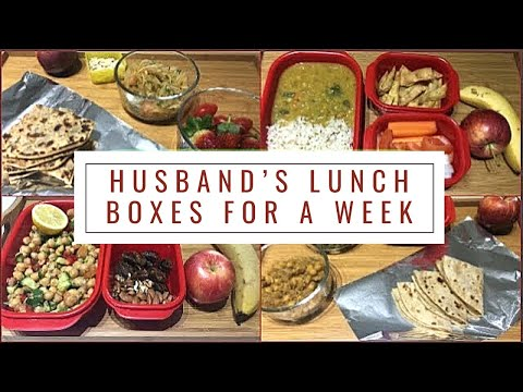 Husbands Healthy Yet Super Delicious Lunch Boxes For A Week