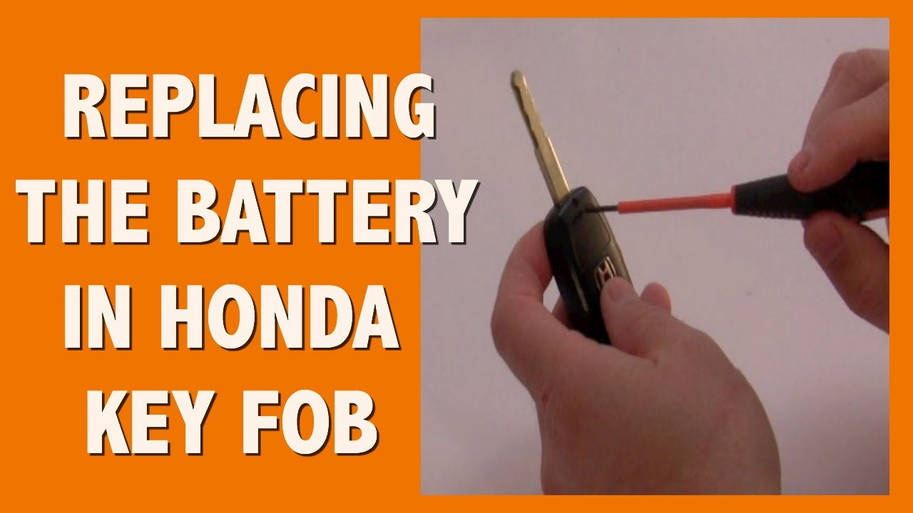 Honda Key Fob >> HOW TO REPLACE BATTERY IN HONDA ODYSSEY KEY FOB - YouTube