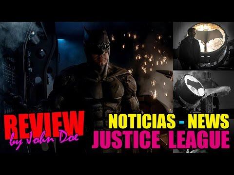 JUSTICE LEAGUE - LIGA DE LA JUSTICIA - BATMAN SUIT - GORDON - DEATHTROKE - NOTICIAS - JOHN DOE