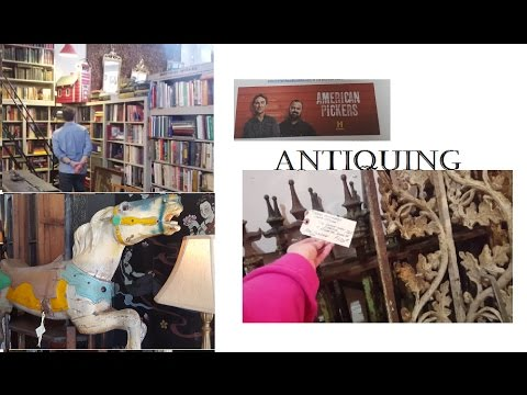 Follow Me Around Antiquing with Sean THISTLE PATCH: VINTAGE GARDEN & ANTIQUES
