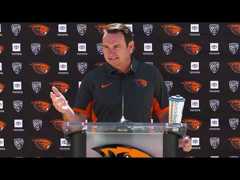 Oregon State Beavers - Beaver Media Day: Smith, Luton and Moore talk 2019 season!!