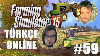 Farming Simulator 15 Türkçe Multiplayer   Cem'in Traktörü   Bölüm 59