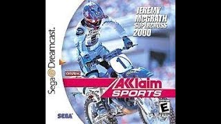 DREAMCAST NTSC GAMES: Jeremy McGrath Supercross 2000