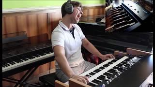 Blues on Viscount Legend Live and Studiologic Mp-113 bass pedal