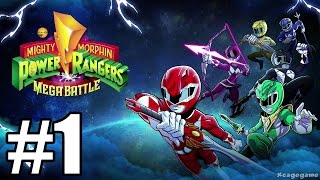 Mighty Morphin Power Rangers: Mega Battle Gameplay Walkthrough Part 1
