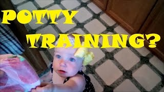 THE START OF POTTY TRAINING?! (DAY 86)