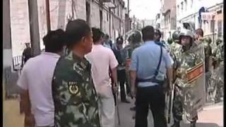 Genocide and Hunting of Uyghurs by the Chinese Army in Urumqi, East Turkestan on 5 July 2009