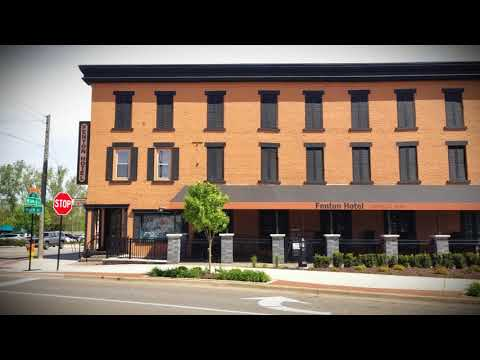 Downtown Fenton Michigan Restaurants - Part I