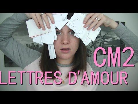 Mes lettres et petits mots d'amour du CM2 ♥