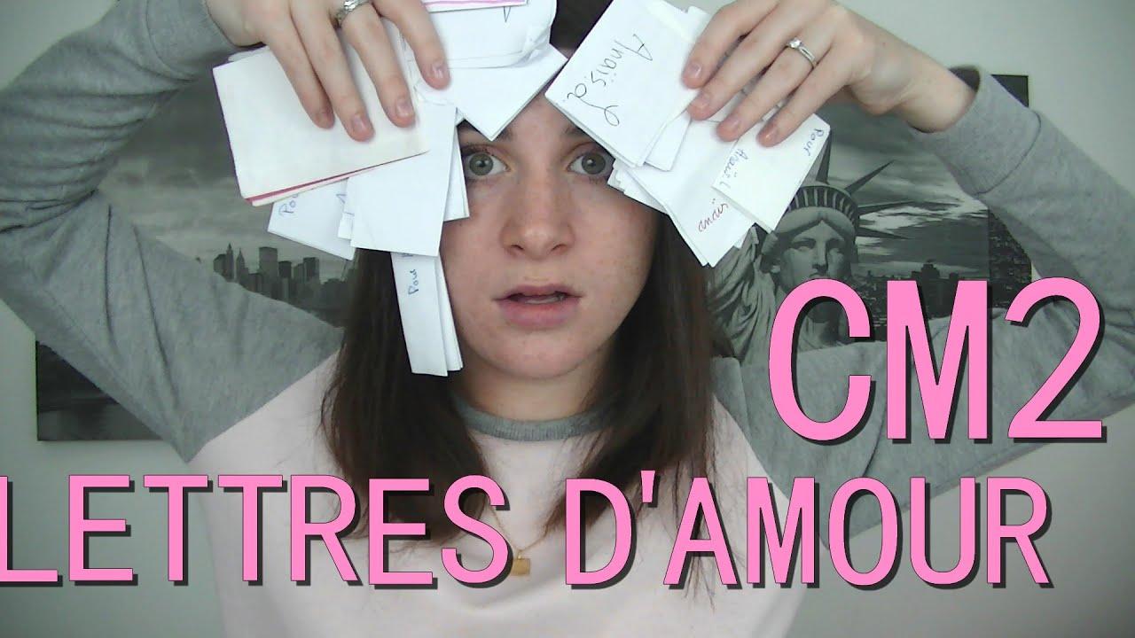 Mes Lettres Et Petits Mots Damour Du Cm2